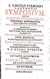 Symposium sive centum epigrammata tristicha aenigmatica