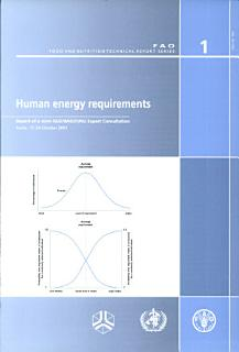Human Energy Requirements Book