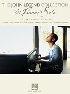 The John Legend Collection for Piano Solo Book