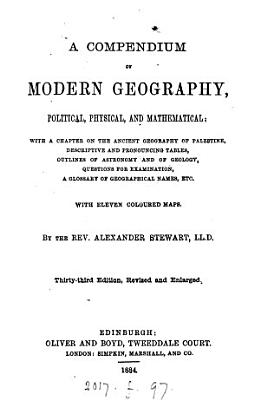 A compendium of modern geography PDF