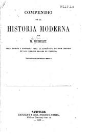 Compendio de la historia moderna