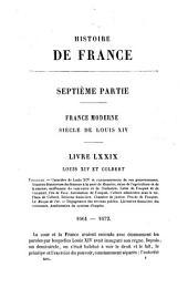 Histoire de France depuis les temps les plus reculés jusqu'en 1789: Volume13