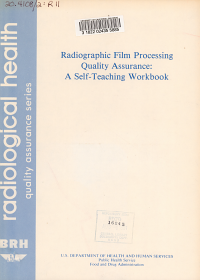 Radiographic Film Processing Quality Assurance