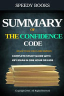 Summary of the Confidence Code by Katty Kay and Claire Shipman
