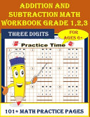 Addition and Subtraction Math WorkBook Grade 1 2 3 PDF