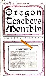 Oregon Teachers' Monthly