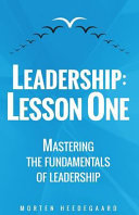 Leadership   Lesson One PDF