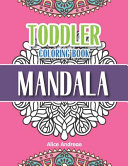 Toddler Coloring Book Mandala Book