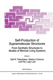Self-Production of Supramolecular Structures: From Synthetic Structures to Models of Minimal Living Systems