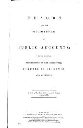 Parliamentary Papers: Volume 7