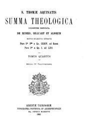 S. Thomae Aquinatis summa Theologica ...