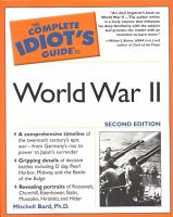 The Complete Idiot s Guide to World War II PDF