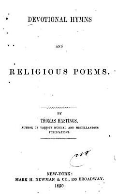 Devotional Hymns and Religious Poems PDF