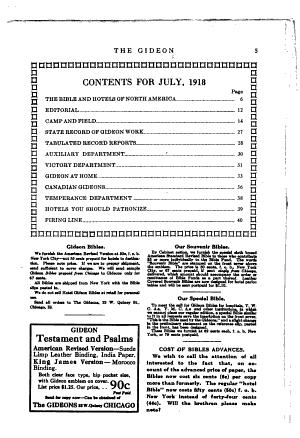 The Gideon PDF