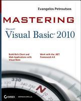 Mastering Microsoft Visual Basic 2010 PDF