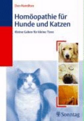 Hom  opathie f  r Hunde und Katzen PDF