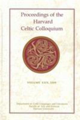 Proceedings of the Harvard Celtic Colloquium  29  2009 PDF
