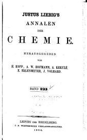 Justus Liebigs Annalen der Chemie: Bände 233-234