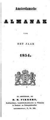 Amsterdamsche almanak voor ...: Volume 1