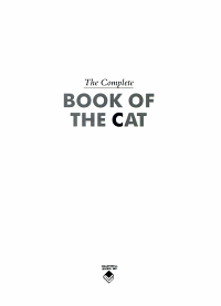 The Complete Book of the Cat PDF