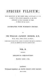 Species Filicum: Adiantum