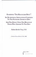Examining  the Hallelujah Diet  PDF