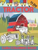 Tractor Farm Coloring Book PDF