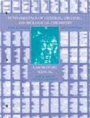 Fundamentals of General  Organic  and Biological Chemistry  Laboratory Manual PDF