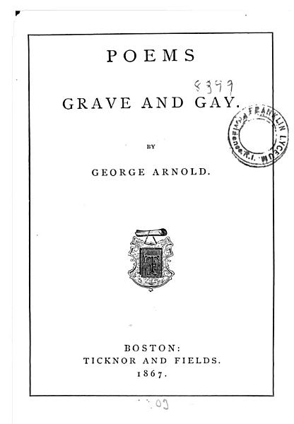 Download Poems Grave and Gay Book