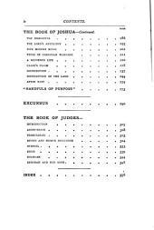 The People's Bible: Joshua-Judges V