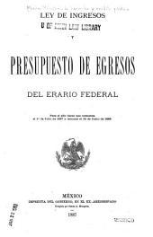 Leyes de presupuestos de ingresos y egresos de la federación