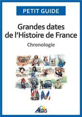 Grandes dates de l'Histoire de France: Chronologie
