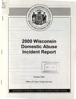 Wisconsin Domestic Abuse Incident Report PDF