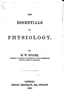 The Essentials of Physiology