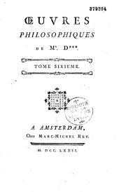 Oeuvres philosophiques. [Traité du Beau... Principes généraux d'acoustique... Projet d'un nouvel orgue... etc.]