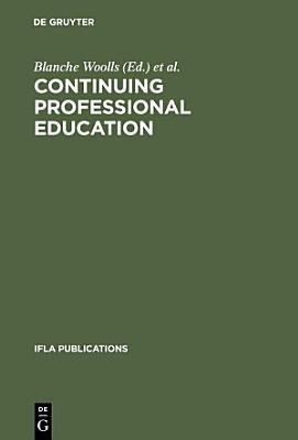 Continuing Professional Education PDF