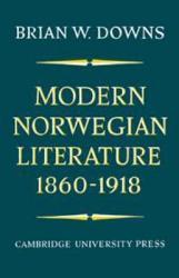 Modern Norwegian Literature 1860 1918 Book PDF