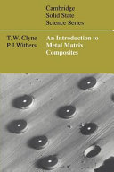An Introduction to Metal Matrix Composites