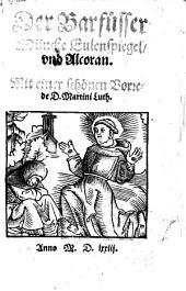 Der Barfüßer Münche Eulenspiegel und Alcoran