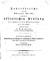 Entwickelung des ganges der handlung in Göthe's Iphigenie: erster theil einer kritik dieses drama's ...