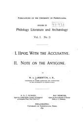 Publications of the University of Pennsylvania: Series in philology, literature, and archæology