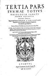 Summa Totius Theologiae: Volume 3