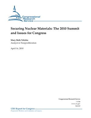 Securing Nuclear Materials PDF