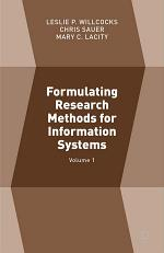 Formulating Research Methods for Information Systems