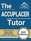 The ACCUPLACER Tutor