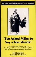 I ve Asked Miller to Say a Few Words PDF