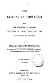 On the lessons in proverbs, 5 lectures