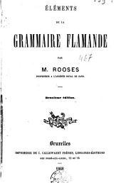 Eléments de la grammaire flamande