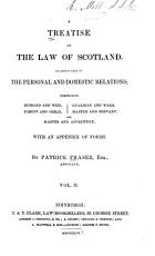 A Treatise on the Law of Scotland PDF