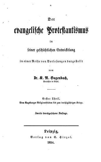 Vorlesungen   ber Wesen und Geschichte der Ref PDF